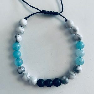 Handmade Diffuser Bracelet 6mm beads & adjustable